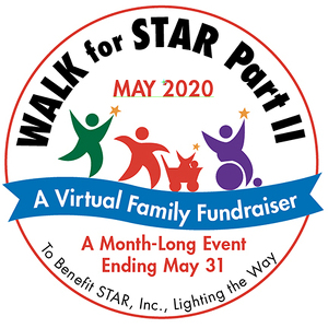 Event Home: ** VIRTUAL** 15th Annual STAR Walk &  Month of May Family Fundraiser